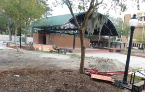Bo Diddley Plaza is undergoing a facelift.
