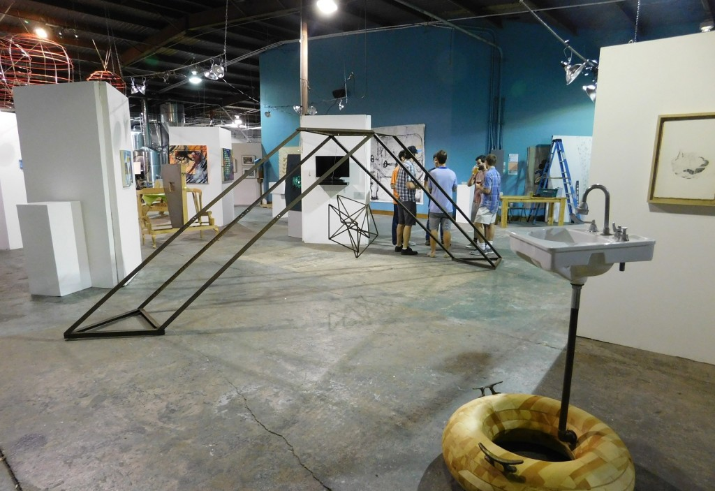 First Magnitude Brewing Co. provides a spacious home to all shapes and sizes of artwork.