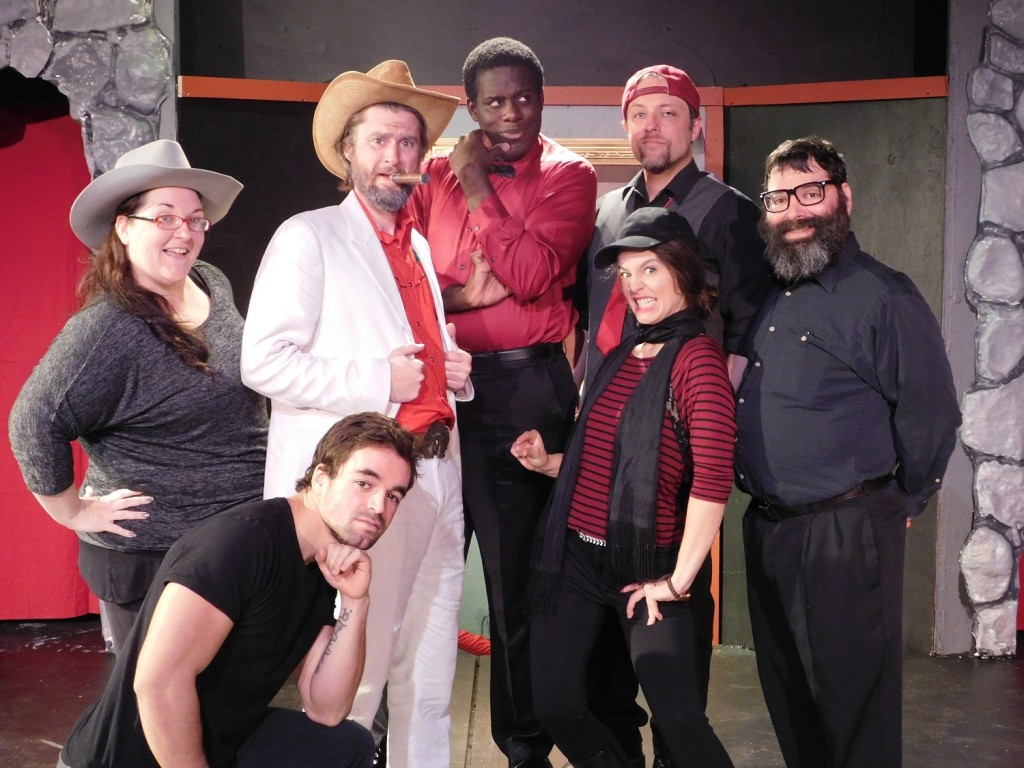 The cast of Hometown Knights (Photograph by Gainesville Downtown)