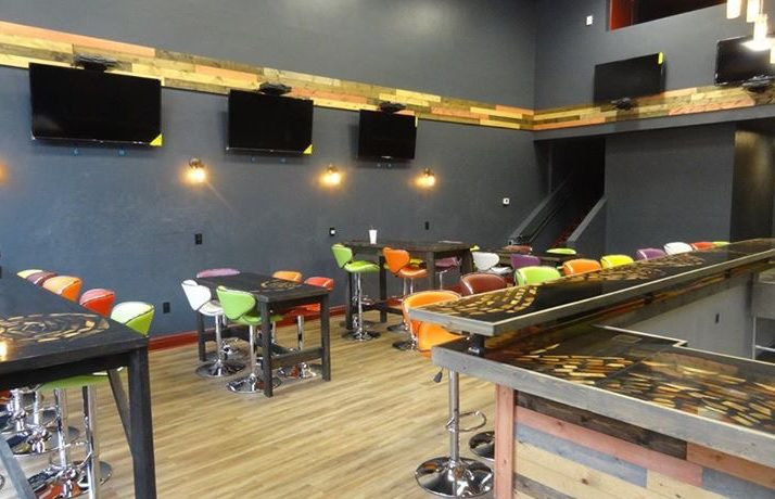 The inside of Elixir Lounge and Smoothies Bar.