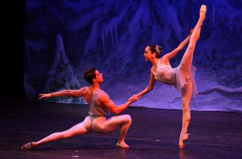 Fhilipe Teixeira and Carla Amancio in Spirits of the Forest Photo by Monica Nielsen)