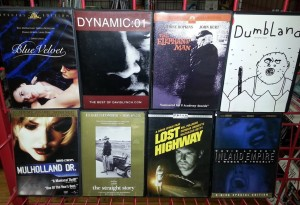 The David Lynch collection at Cyclops Cinema.