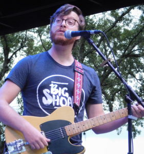 Michael Claytor is a storyteller with his music. Photo by Gainesville Downtown)