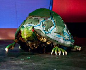 The turtle that Dan Ballard gave the ability to walk.
