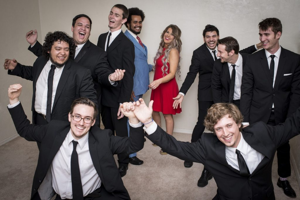 The Savants of Soul are one happy group in this 2015 photo. Photo by Chris Robles)