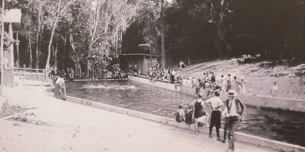Gainesvilles Glen Springs was a popular gathering spot in the day.