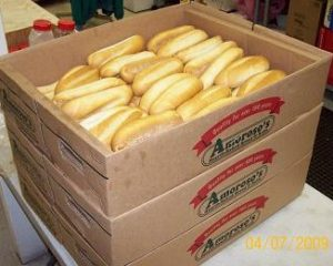 Amoroso hoagie rolls from Philly