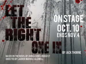 let the right one in a novel